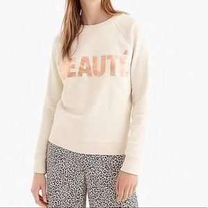 J Crew Beaute Sweatshirt